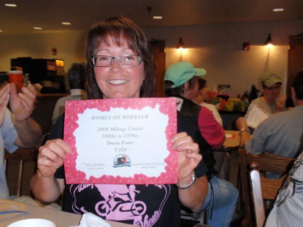 Deanas Mileage Certificate