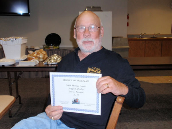 Denis Mileage Certificate